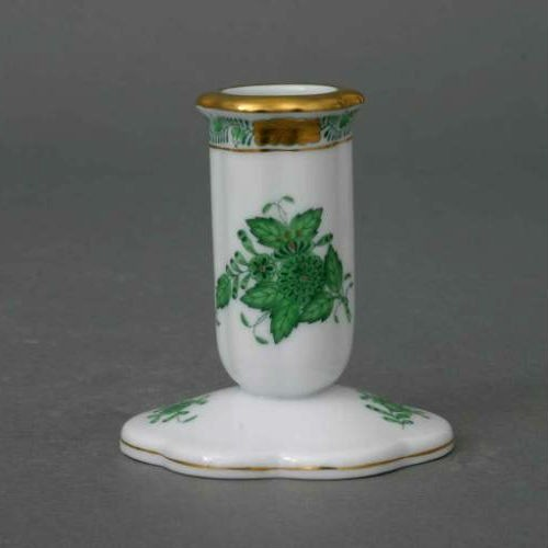 Candlestick - Chinese Bouquet Green