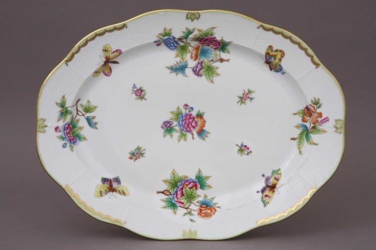 Oval dish - Queen Victoria