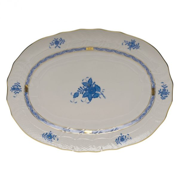 Medium Oval dish - Chinese Bouquet