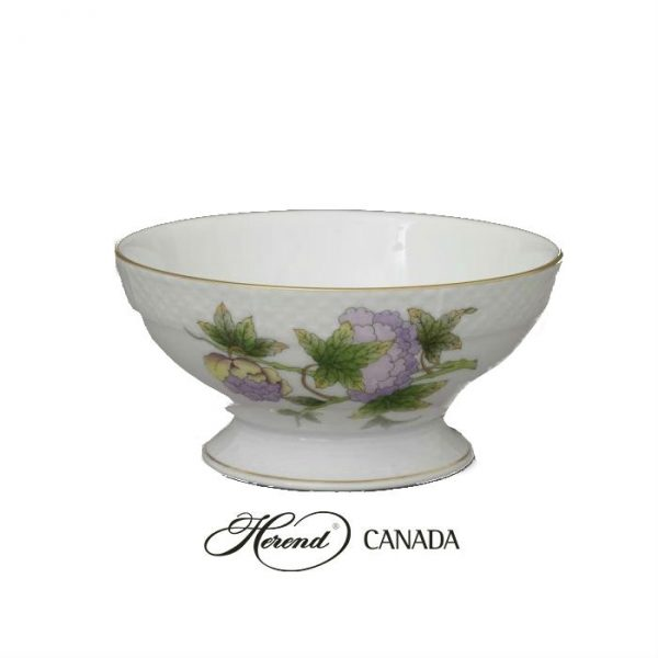 Footed Fruit Bowl - Royal Garden