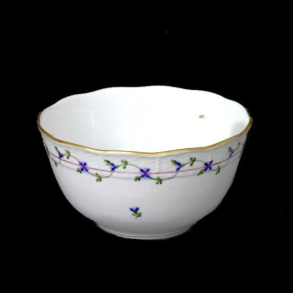 Round Bowl - Petite Blue Garland