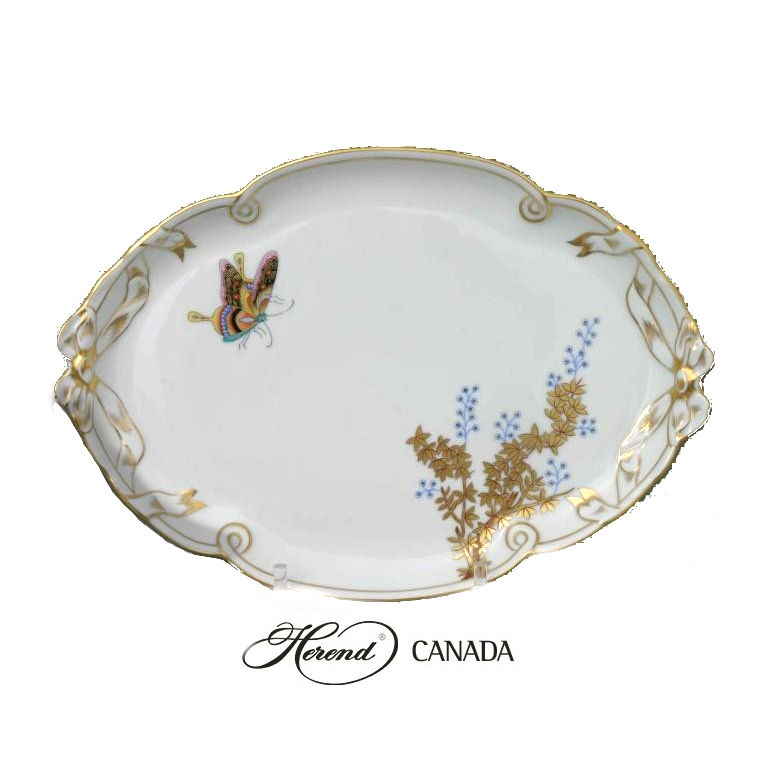 Ribbon Tray - Butterfly and Bamboo