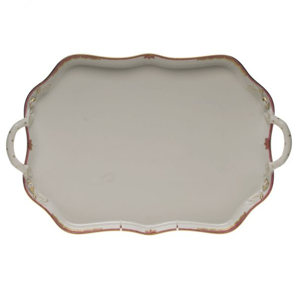 Tray w. branch handle - Princess Victoria