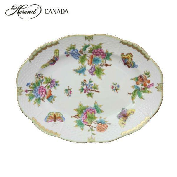 Small Oval dish - Queen Victoria