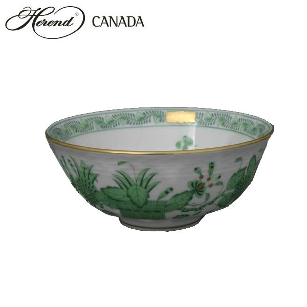 Cereal Bowl - Indian Basket Green