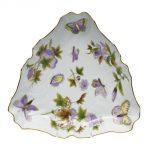 Triangle Dish - Royal Garden Flowers