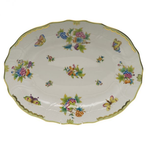 Large Oval dish - Queen Victoria (Assorted Shapes)