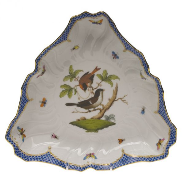 Triangle Dish -Rothschild-Blue