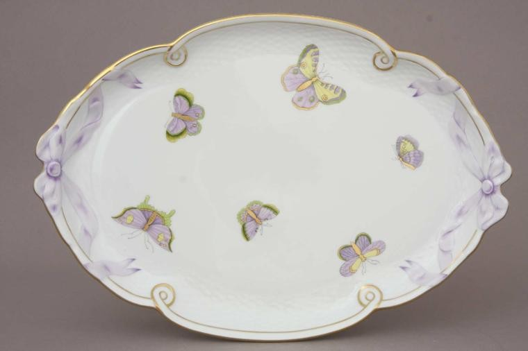 Ribbon Tray - Royal Garden Butterfly
