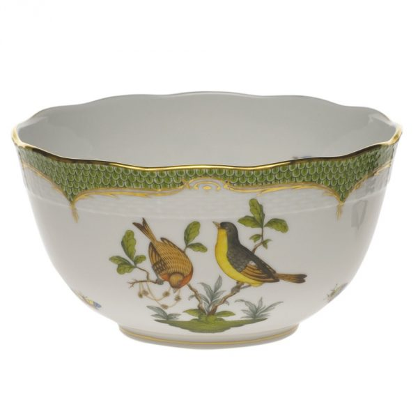 Round Bowl - Rotschild Bird - Fishnet (Assorted Colors)