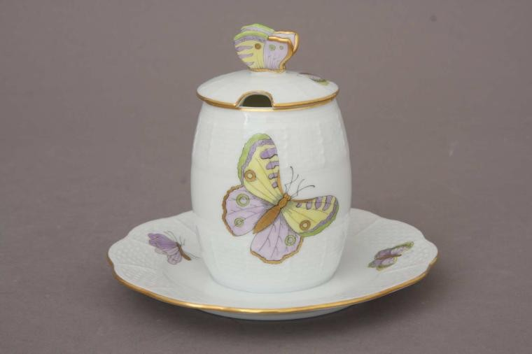 Mustard pot - Royal Garden Butterfly (Assorted Colors)