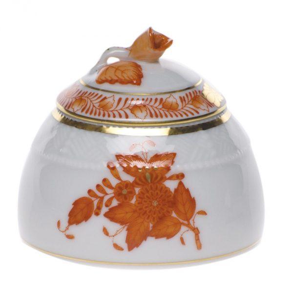 Honey pot, rose knob - Chinese Bouquet Rust