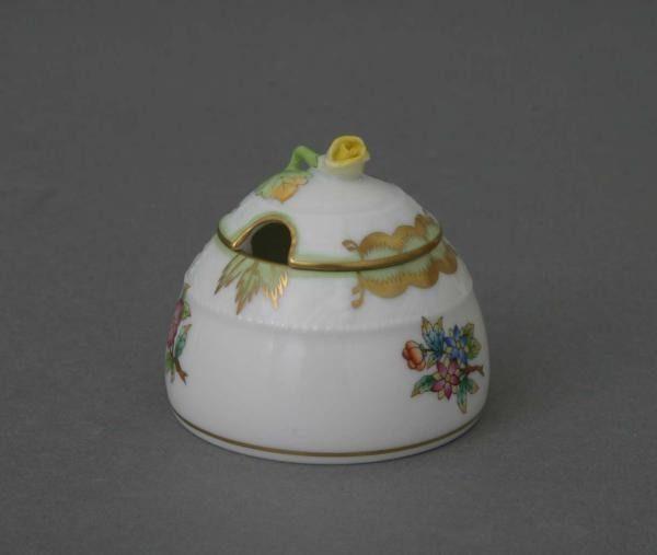 Honey pot, rose knob - Queen Victoria