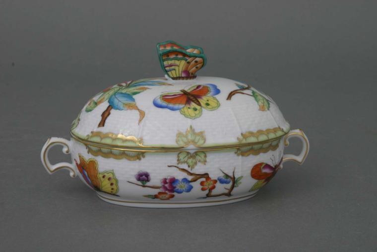 Jam pot, rose knob - Museum Victoria