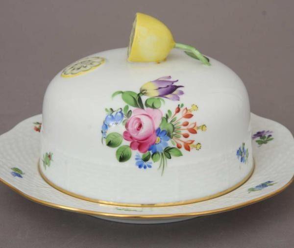 Butter dish, Lemon knob - Printemps