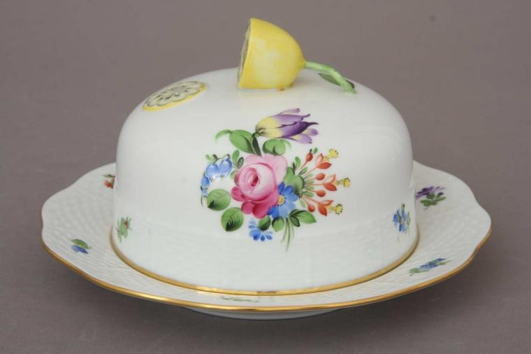 Butter dish, Lemon knob - Printemps