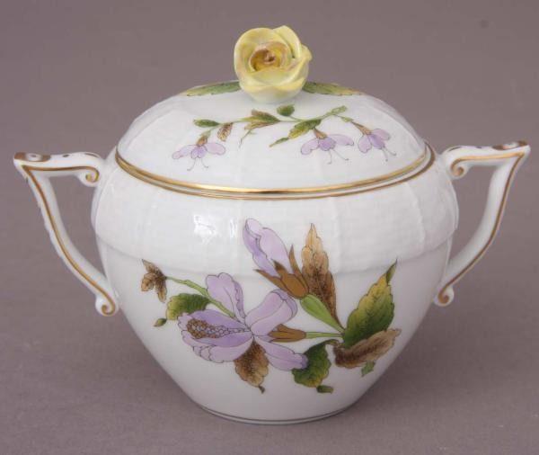 Sugar basin, rose knob -Royal Garden Flowers