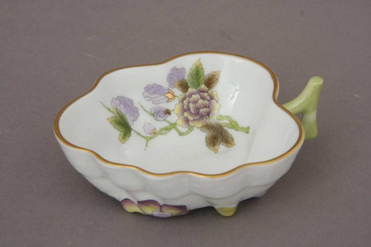 Sugar Bowl (Leaf shaped) - Royal Garden Flowers
