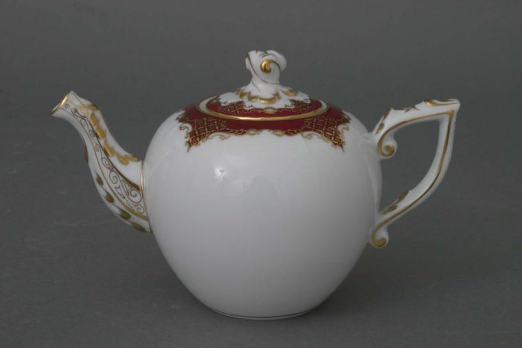Teapot, rose knob - Amanda