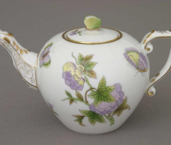 Teapot, butterfly knob - Royal Garden