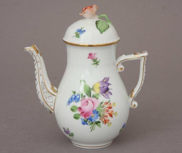 Coffee Pot, rose knob - Printemps