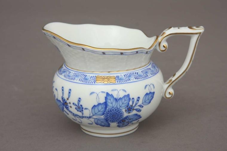 Creamer - Indian Basket Blue
