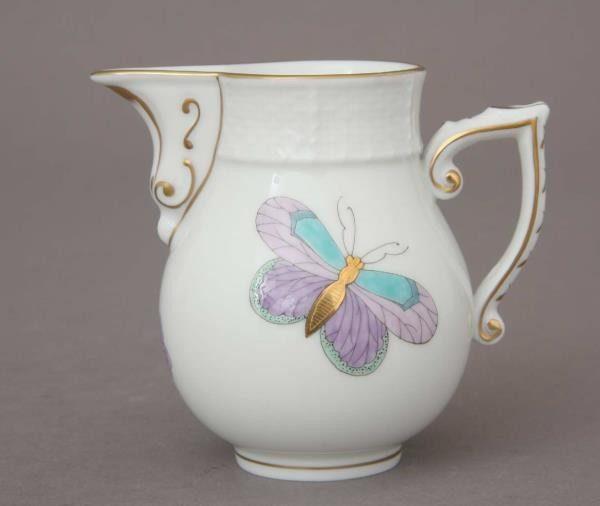 Milkjug - Royal Garden Butterfly Turquoise