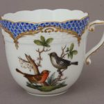Coffee Cup and Saucer - Rothschild Bird Blue