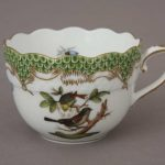Espresso Cup and Saucer - Rothschild Bird Maroone