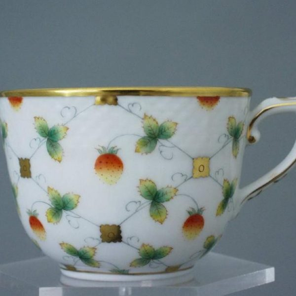 Coffee Cup and Saucer - Fresh Strawberry