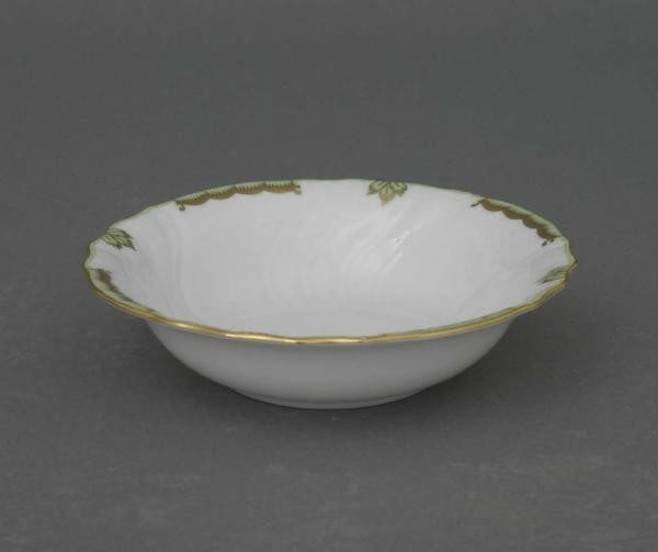 Cereal bowl - Princess Victoria Green