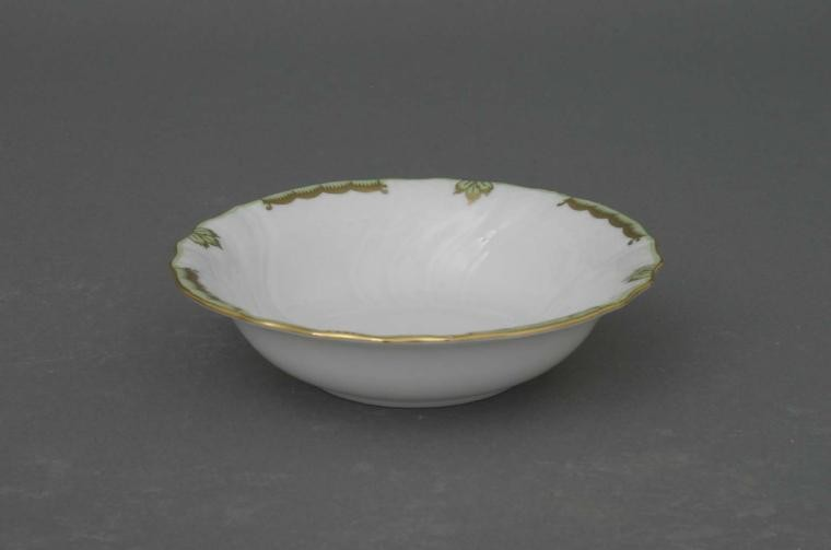 Cereal bowl - Princess Victoria Green