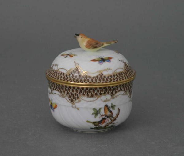 Sugar basin, bird knob - Rothschild Bird Brown