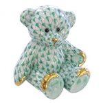 Teddy Bear - Fishnet Red