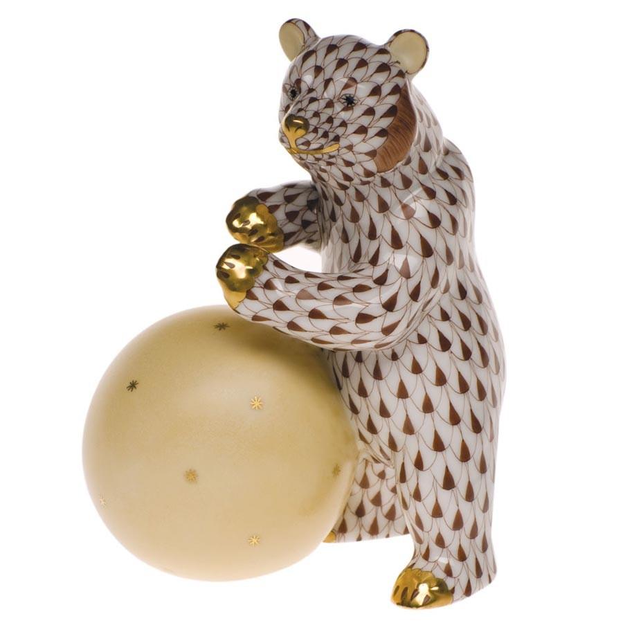 Bear with ball