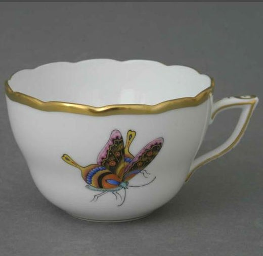 Teacup - Bamboo and Butterfly