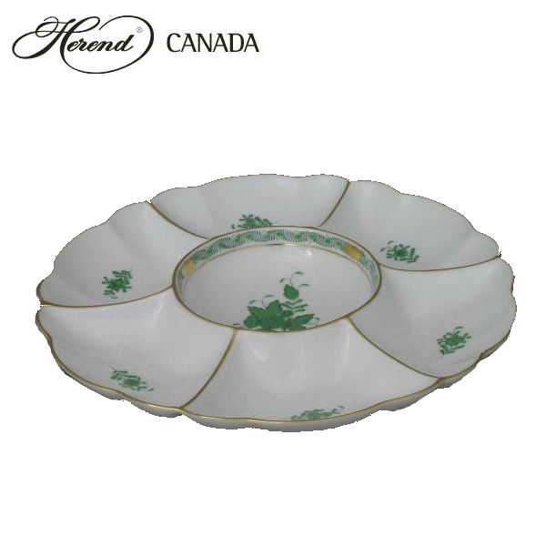 Hors' D'ouvre Dish - Chinese Bouquet Green