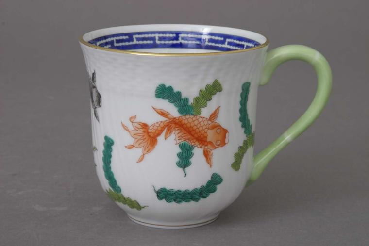 Milk Mug - Chinese Fish