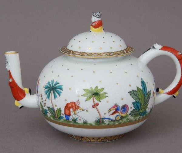 Teapot, mandarin knob - Oriental Showmen