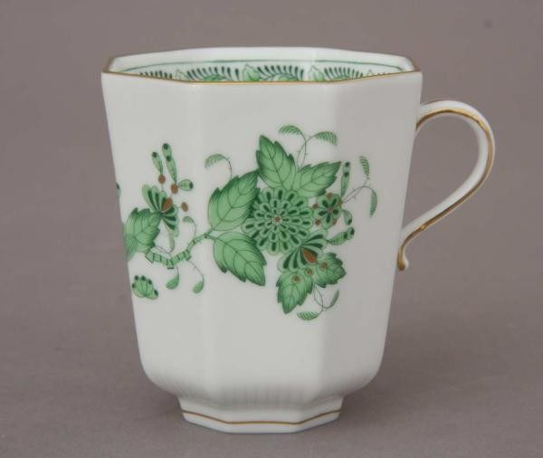 Chocolate cup - Indian Basket Green