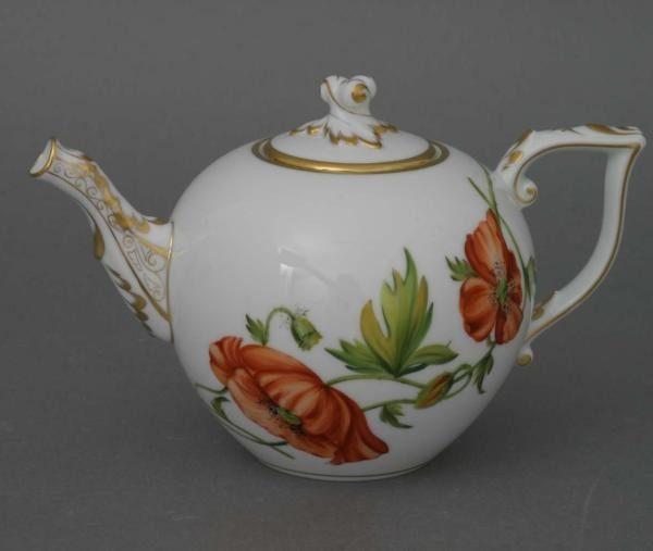 Teapot, twisted knob - American Wildflower