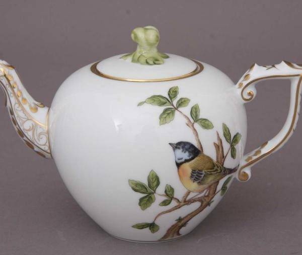 Teapot, twisted knob - Songbird