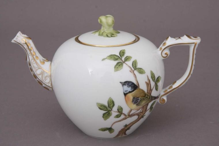 Teapot, twisted knob - Songbird