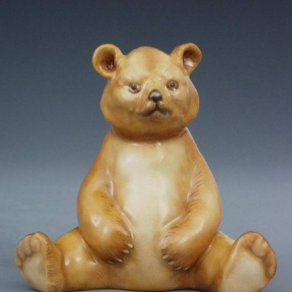 Bear cub, sitting - Assorted Decors