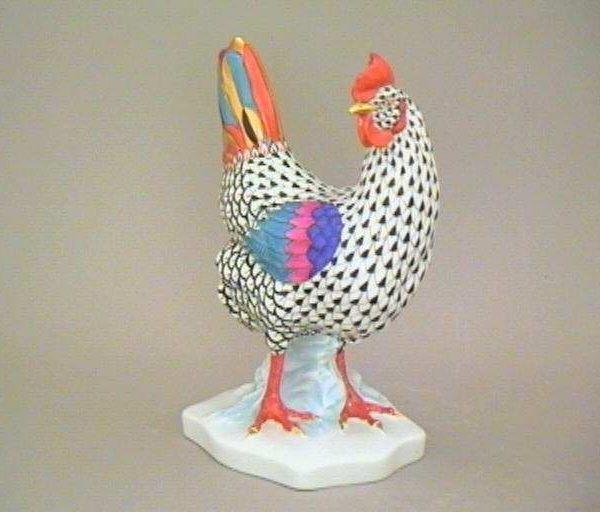 Hen, standing