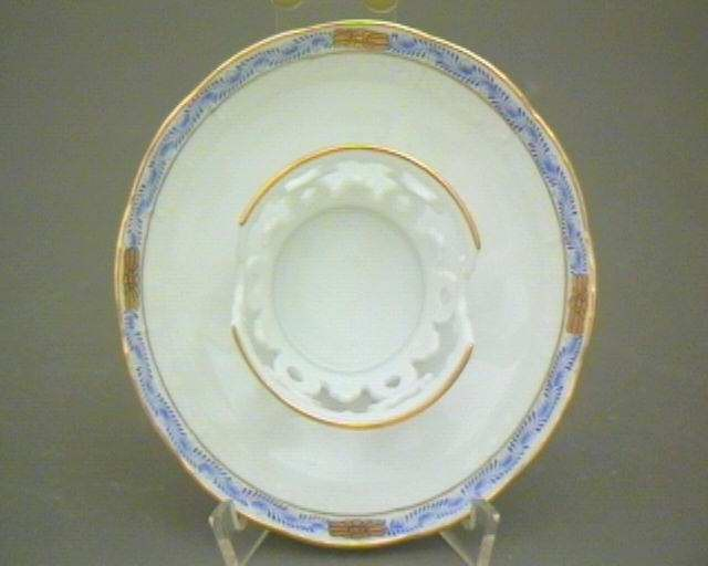 Saucer for Chocolate Cup - Chinese Bouquet Blue