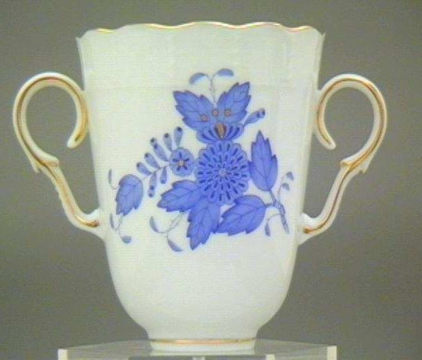 Chocolate Cup - Chinese Bouquet Blue