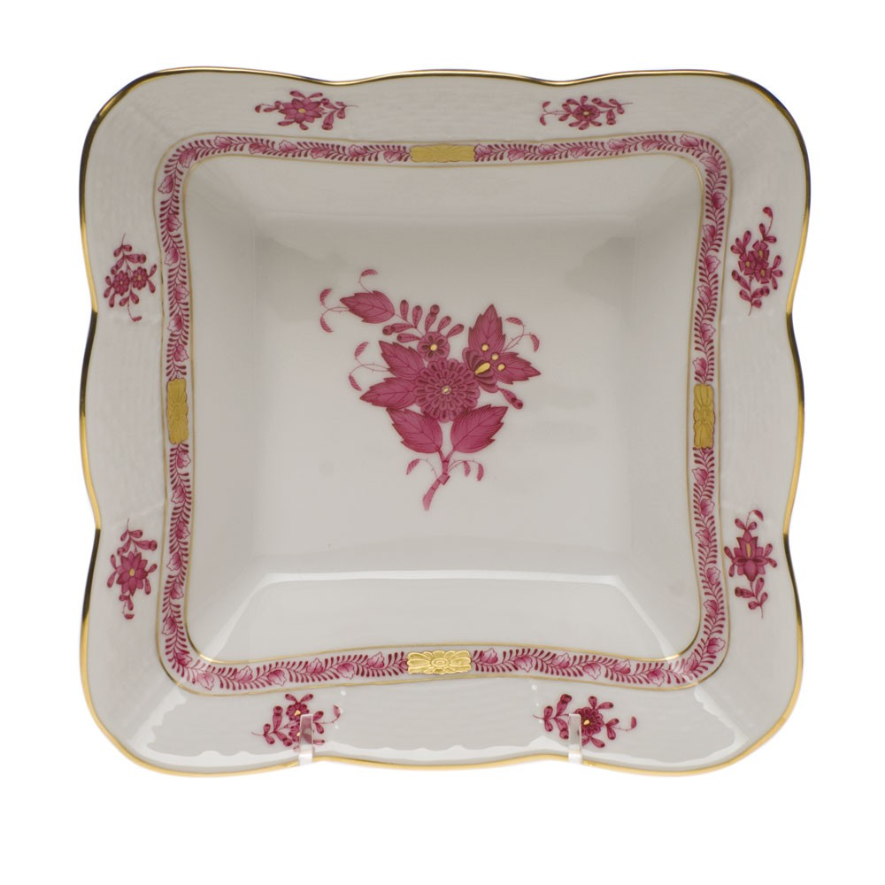 Salad Dish - Chinese Bouquet (Assorted Colors)