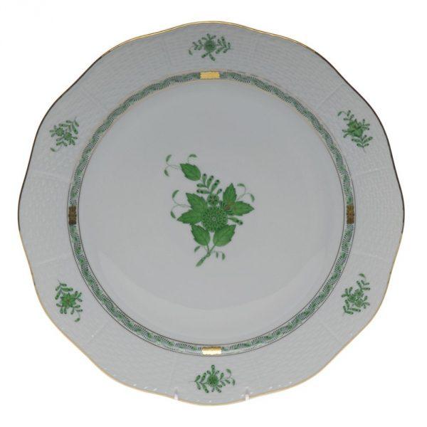 Cake Plate - Chinese Bouquet (Assorted Colors)
