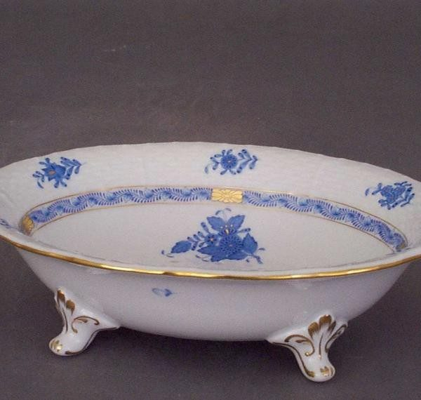 Basin for washing fruits - Chinese Bouquet Blue